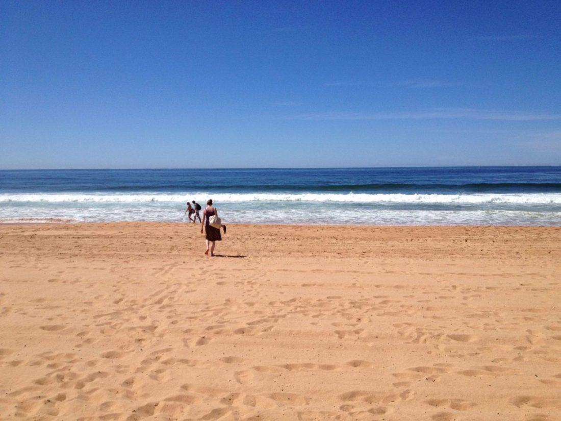 On Palm Beach, near Sydney