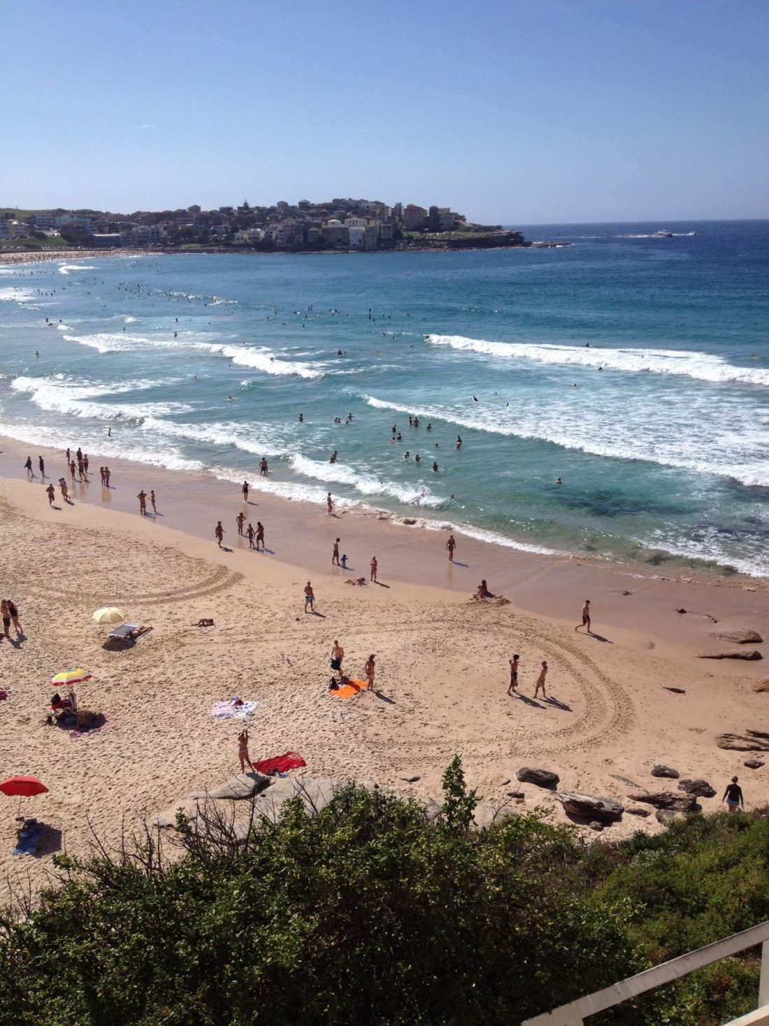 Bondi Beach, the beginning of the Bondi to Coogee Walk, Sydney