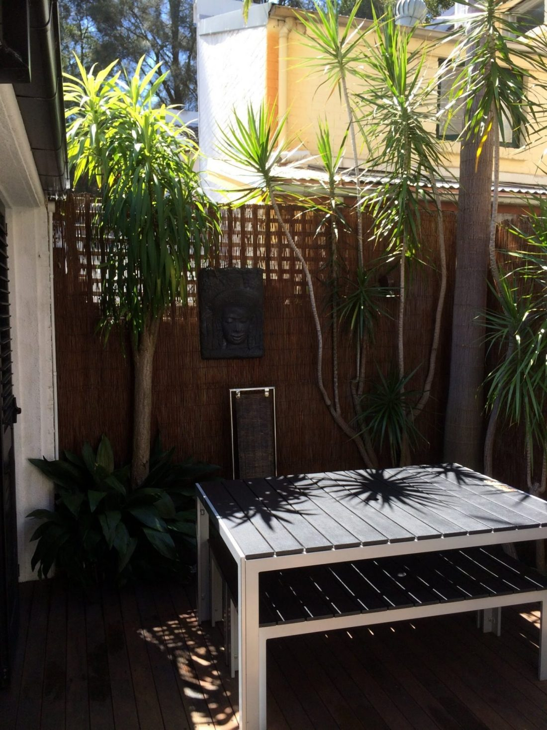 Apartment garden in Woolloomooloo