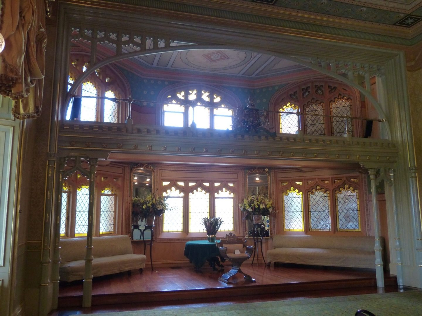 Inside Government House