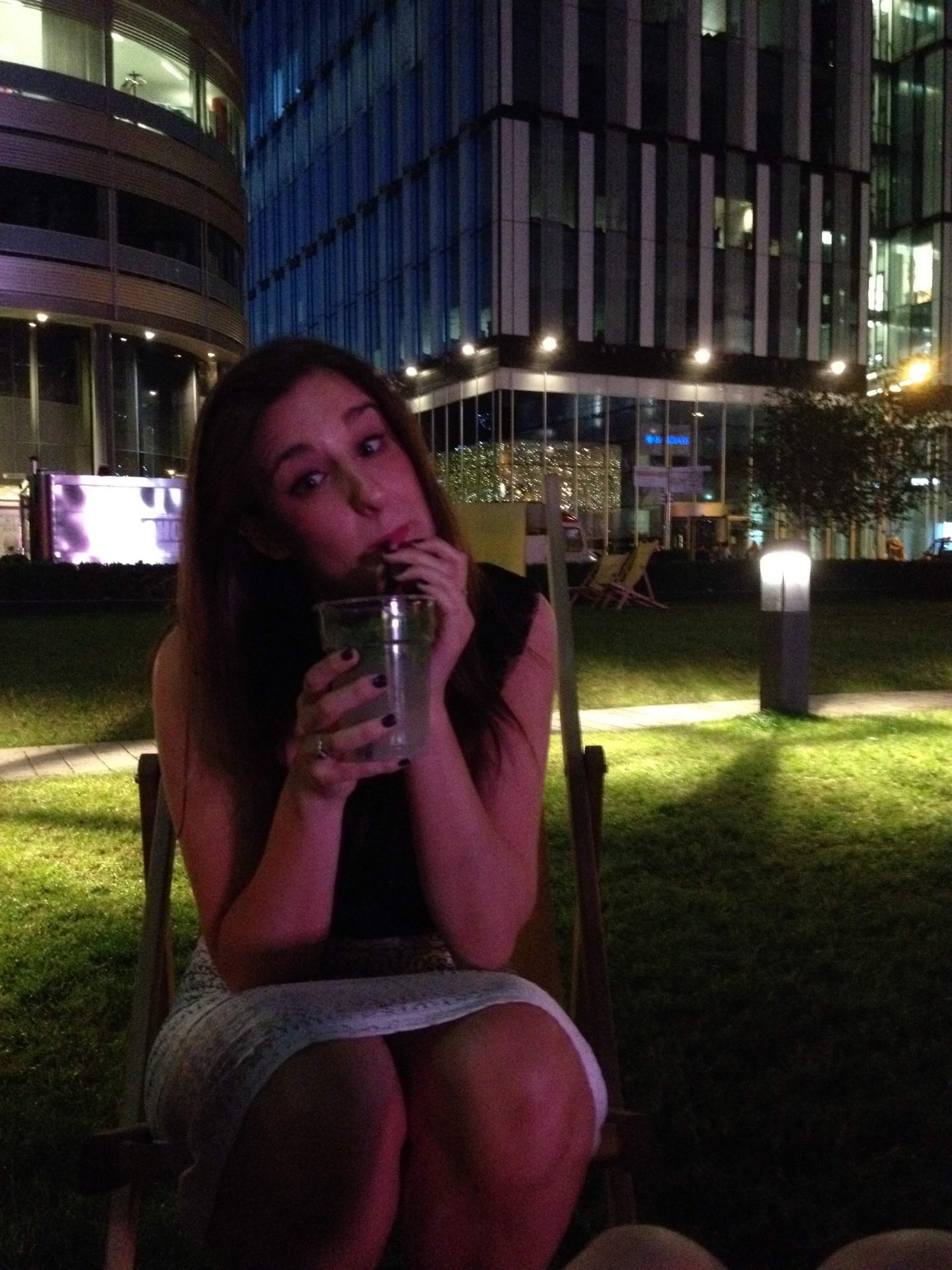 Drinks in Spinningfields, Manchester