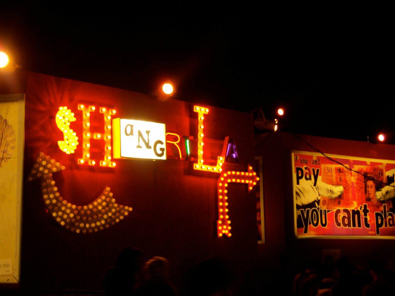 Shangri La Heaven and Hell, Glastonbury