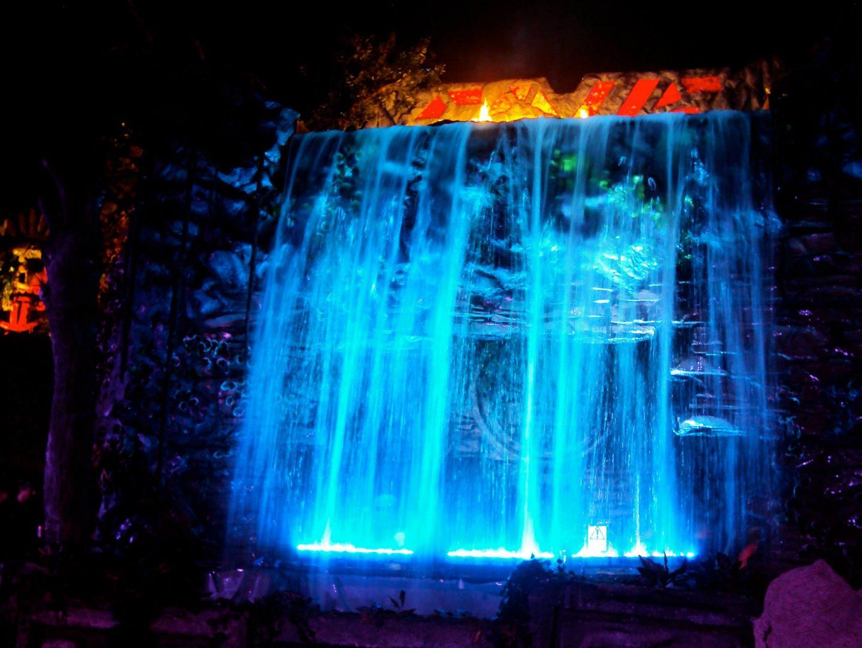 Waterfall at Shangri La, Glastonbury