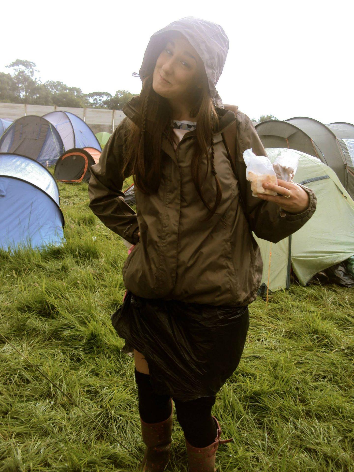 Breakfast at Glastonbury Festival