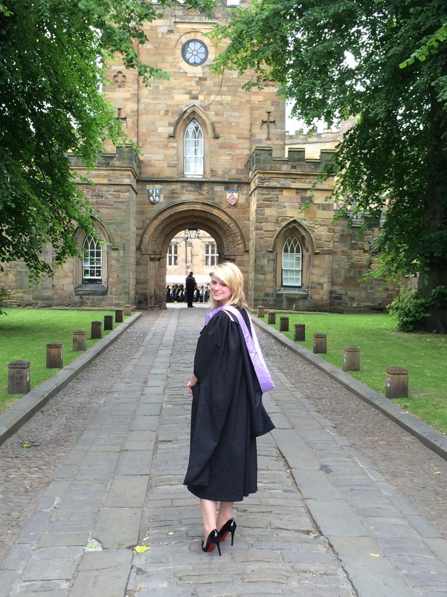 Graduating from Durham University
