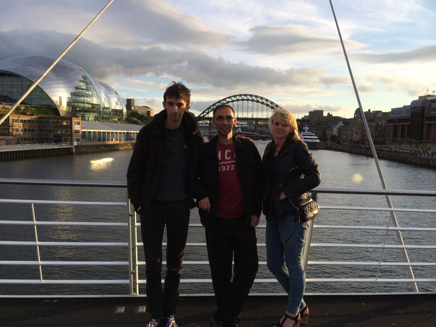 Family on the Tyne, Newcastle