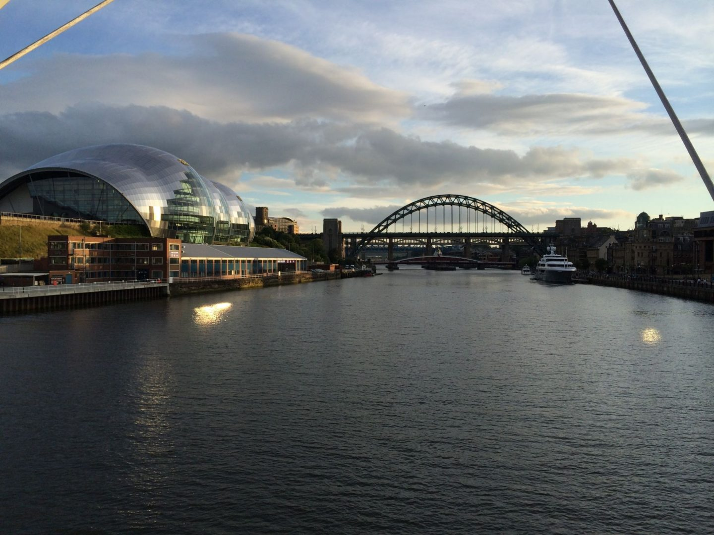 View across the Tyne in Newcastle