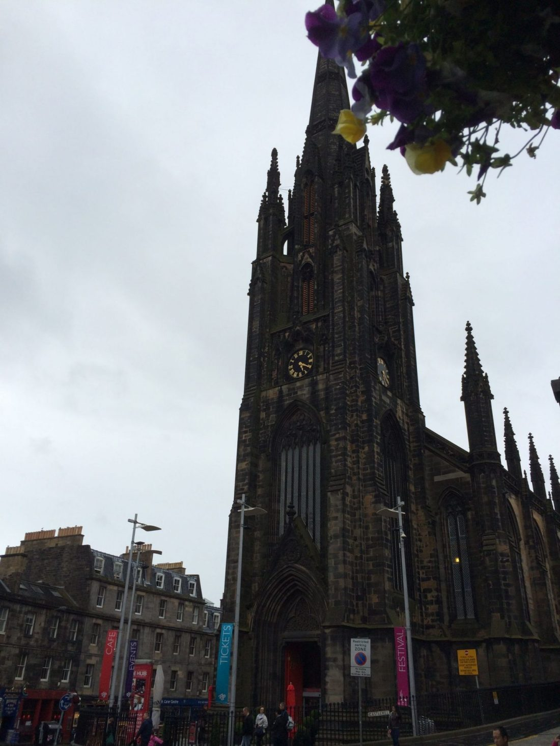 Gothic architecture in Edinburgh