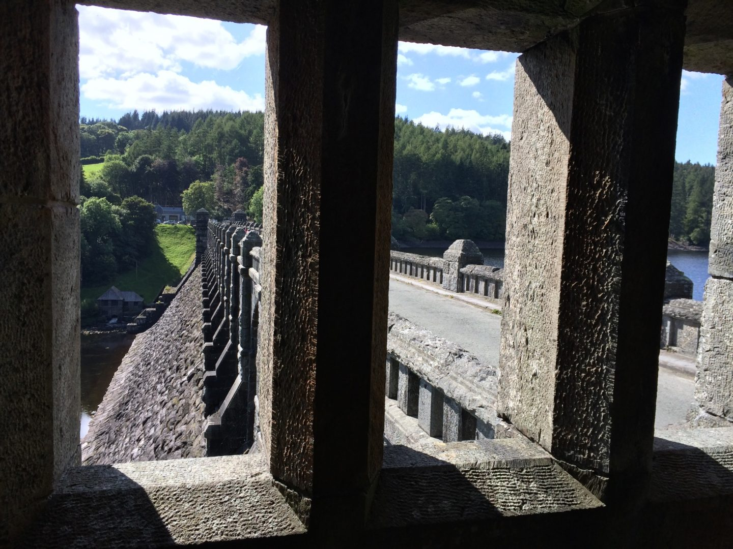Bridge at Lake Vyrnwy, Wales