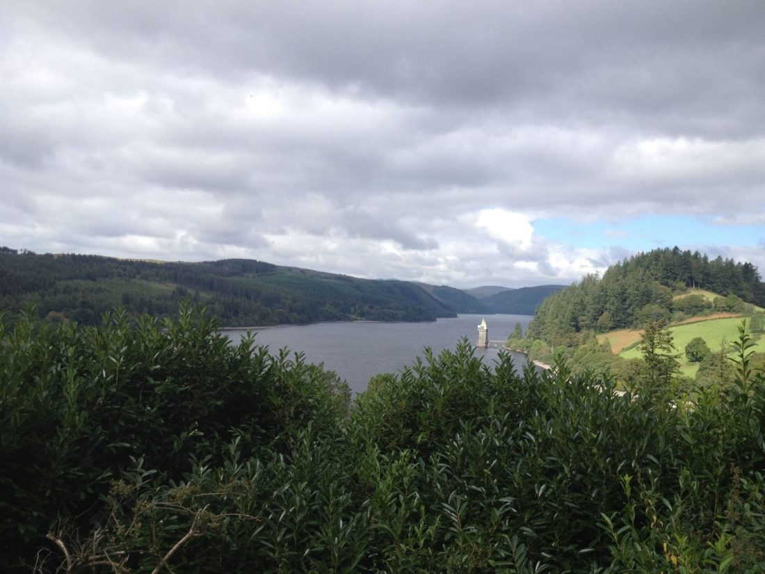 Looking out over Lake Vyrnwy, Wales