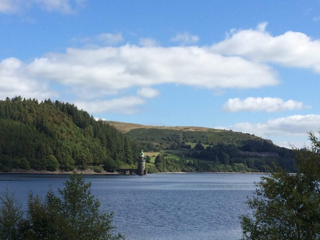 Views over Lake Vyrnwy, Wales