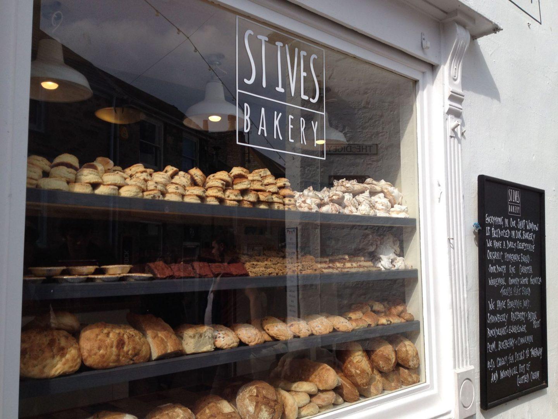St Ives bakery, Cornwall