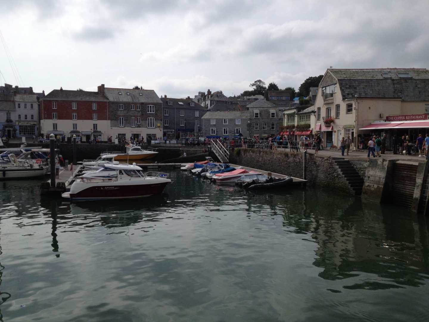 Harbour at Padstow, Cornwall