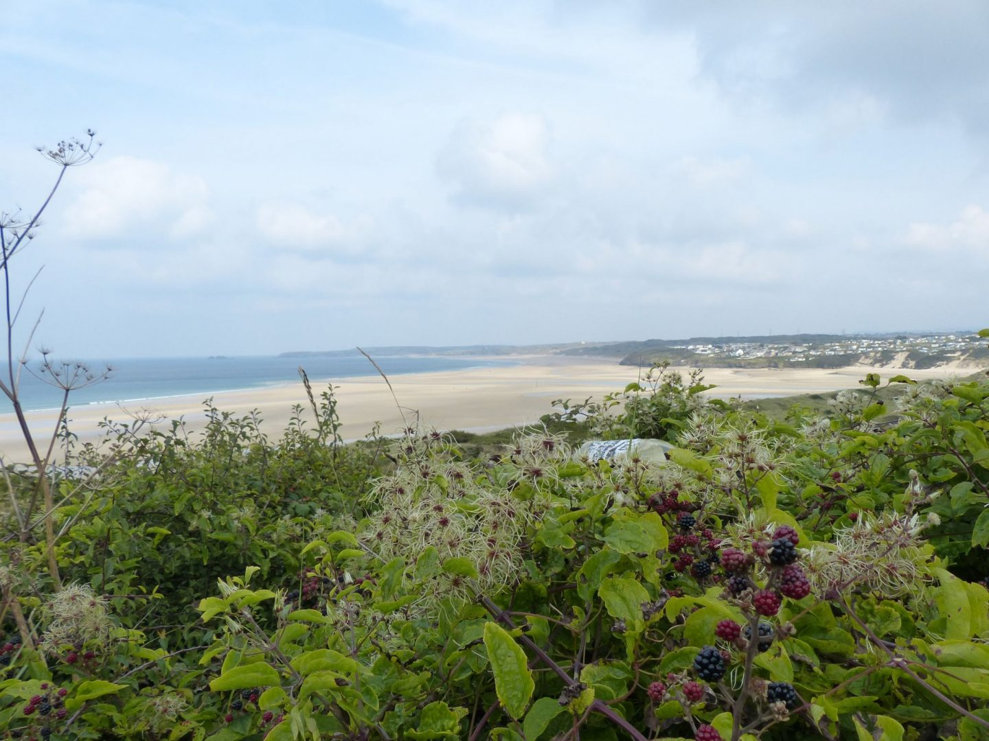 Views on the trail from Carbis Bay, Cornwall