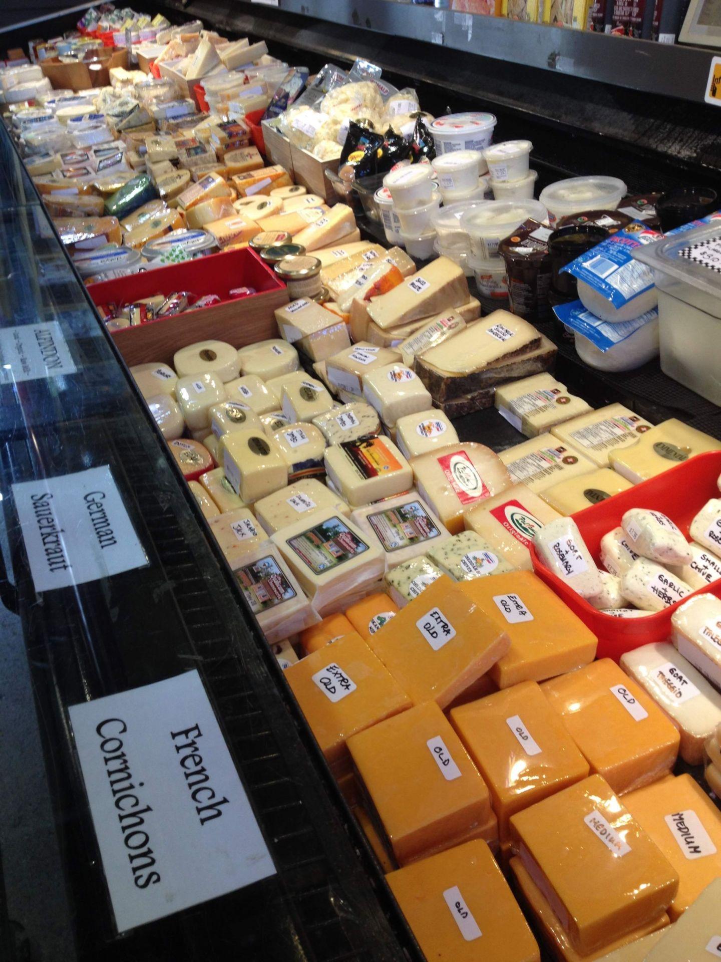 Cheese on Granville Island Public Market