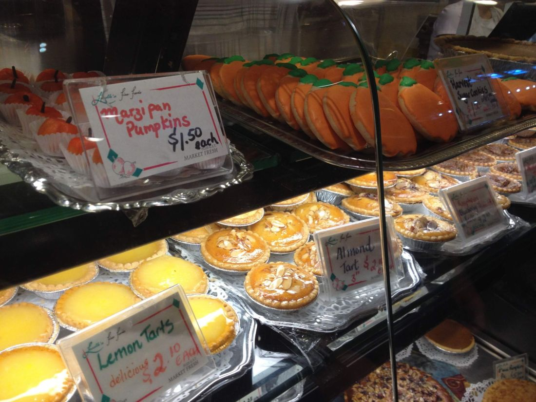Cakes at Granville Island Public Market, Vancouver