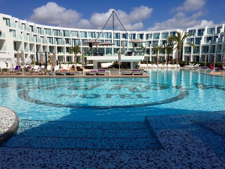 Swimming pool at the Hard Rock Hotel Ibiza