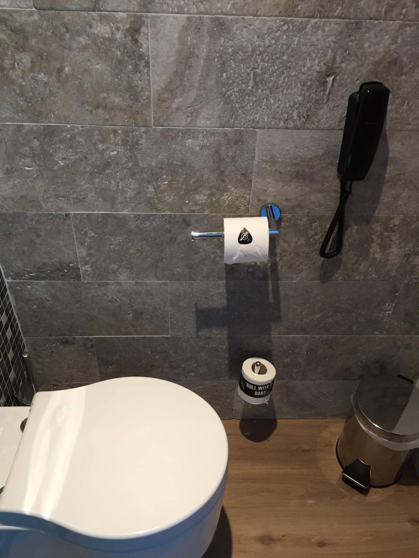 Bathroom at the Hard Rock Hotel