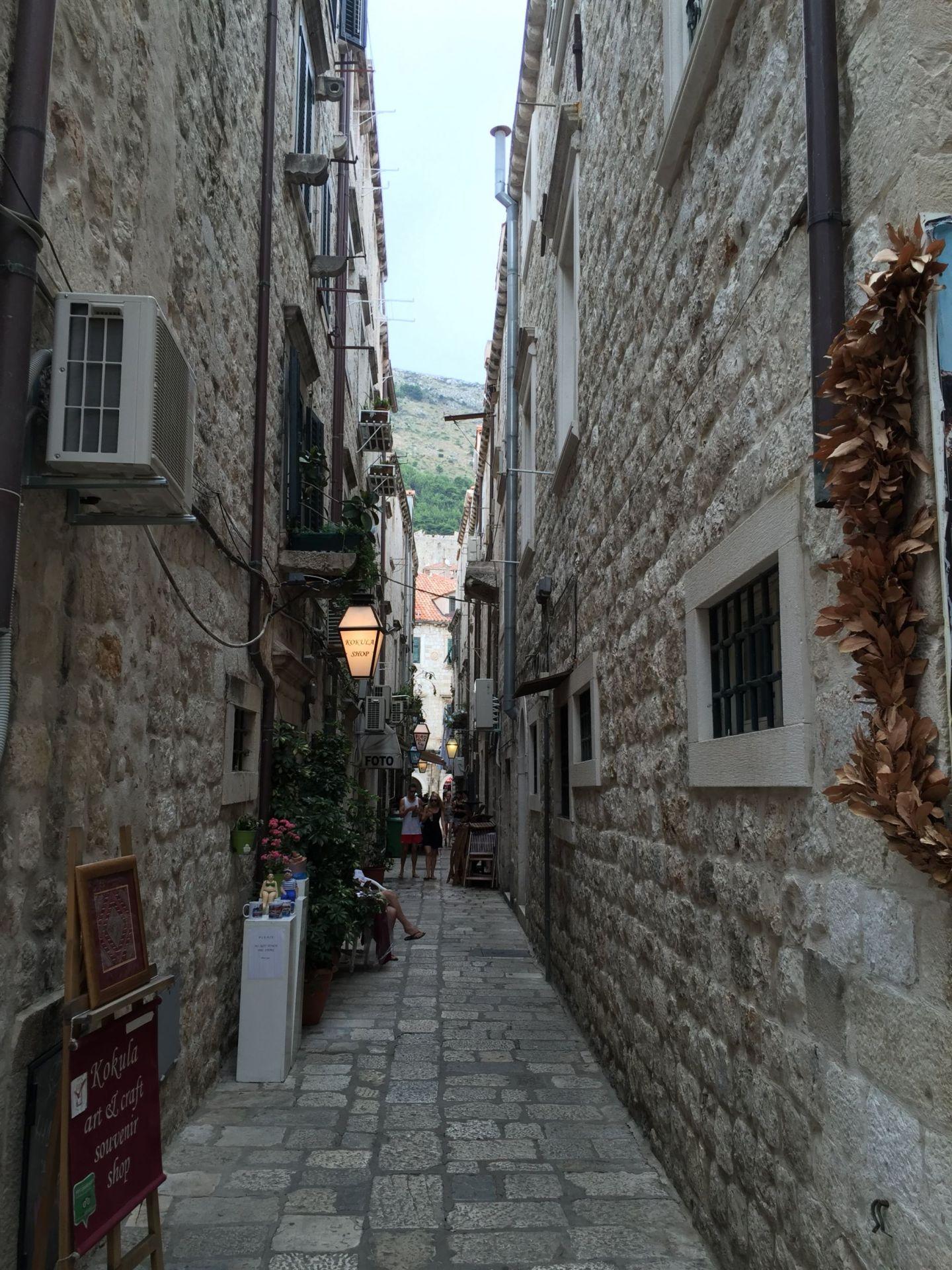 Old streets of Croatia