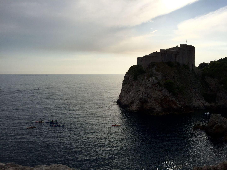 Sunset across Dubrovnik