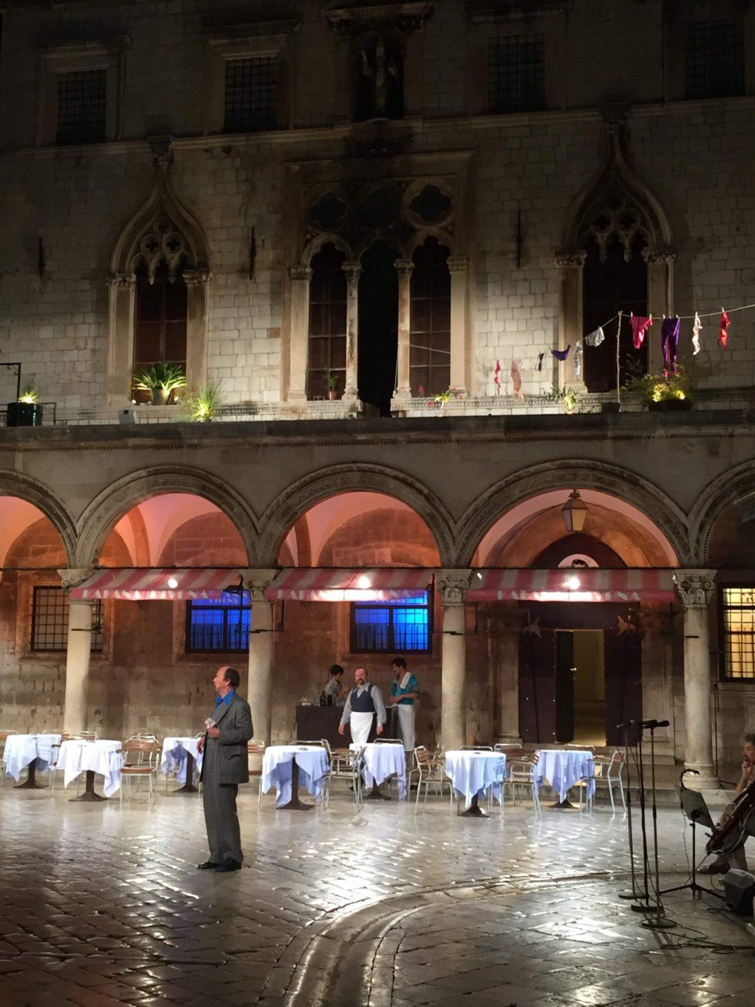 Entertainment in Dubrovnik plaza