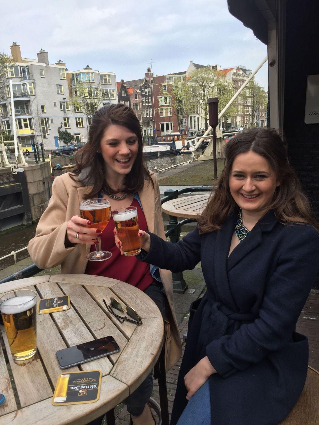 Beers at Sluyswacht, Amsterdam
