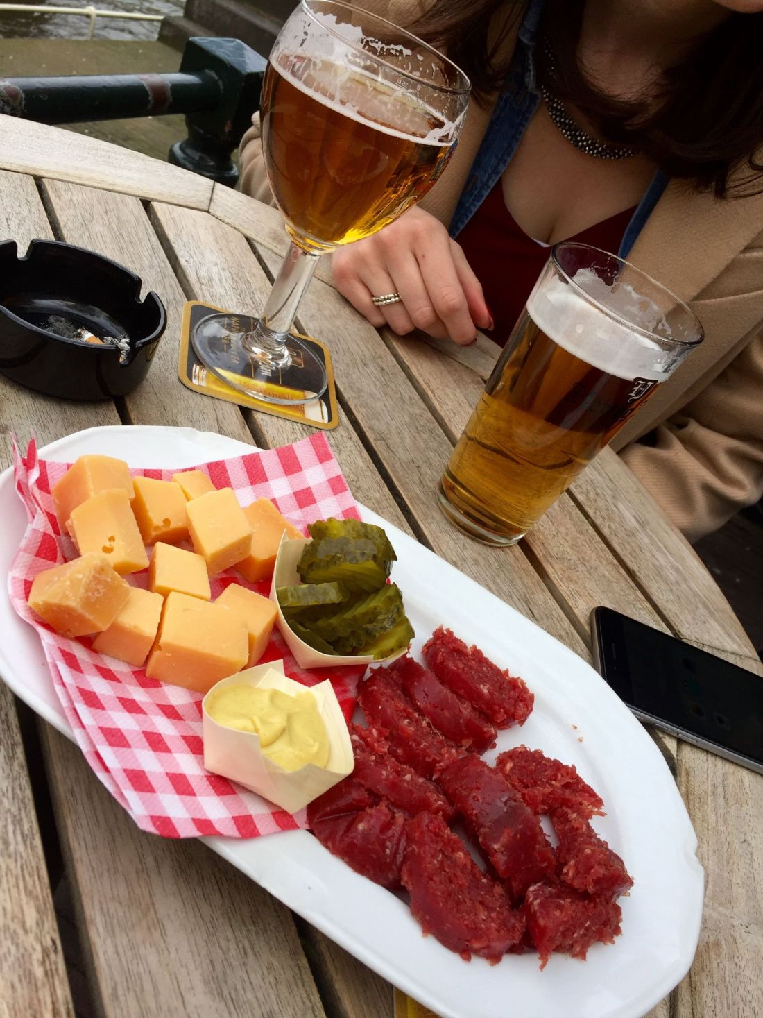 Cheese and meats from Sluyswacht