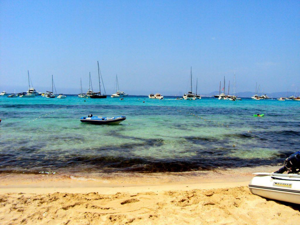 My favourite beaches: a beach on Formentera, Balearic Islands