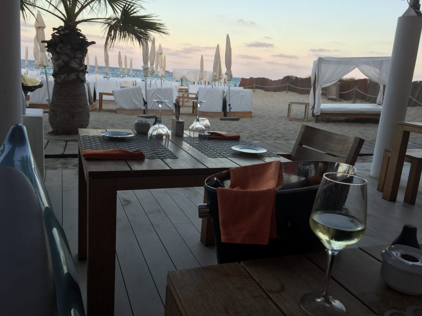 The Beach Club at the Hard Rock Hotel Ibiza