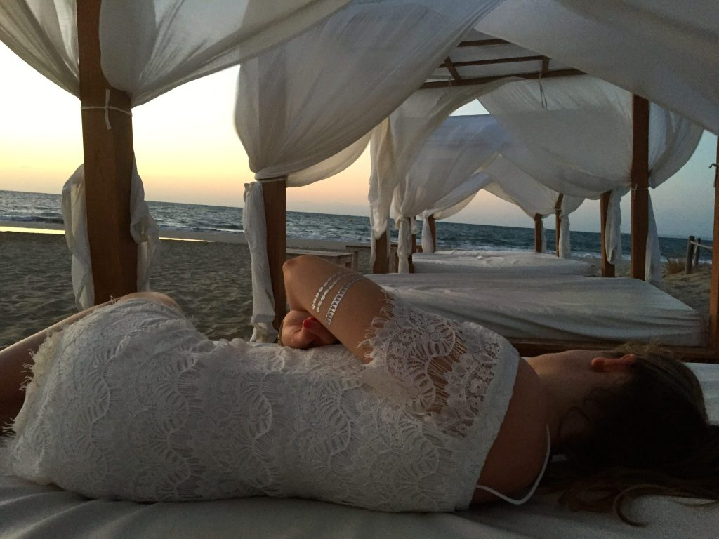 Catching the sunrise at the Hard Rock Hotel Ibiza