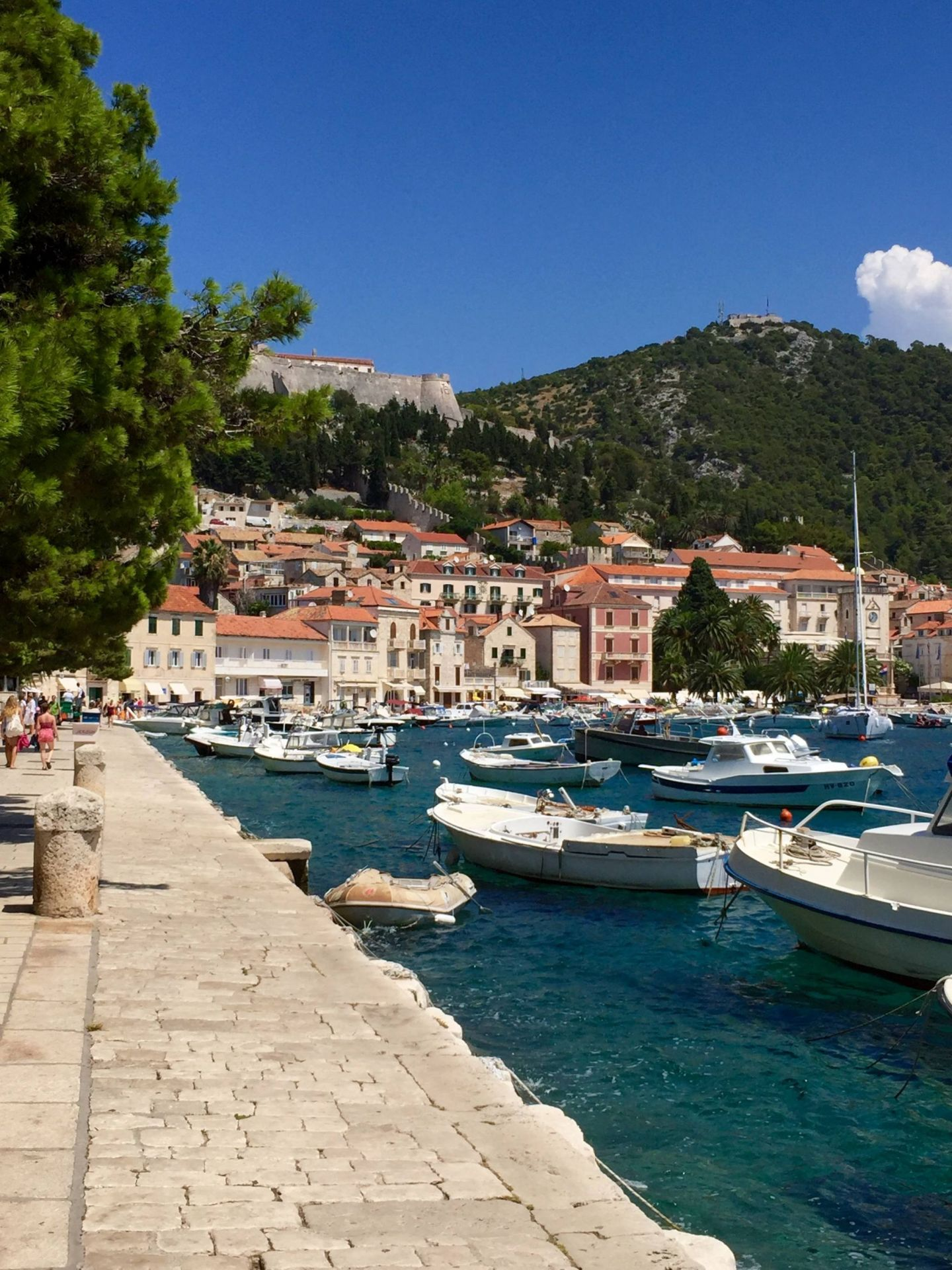 Hvar harbour, Croatia