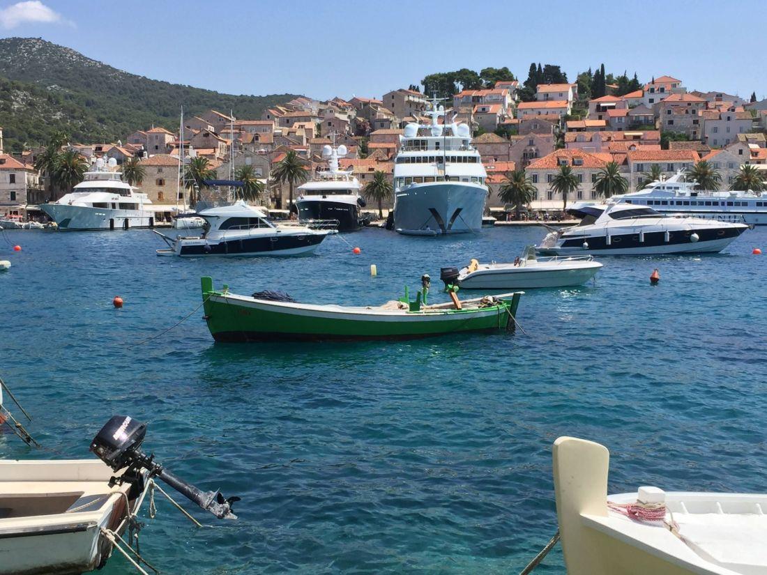Boats of Hvar, Croatia