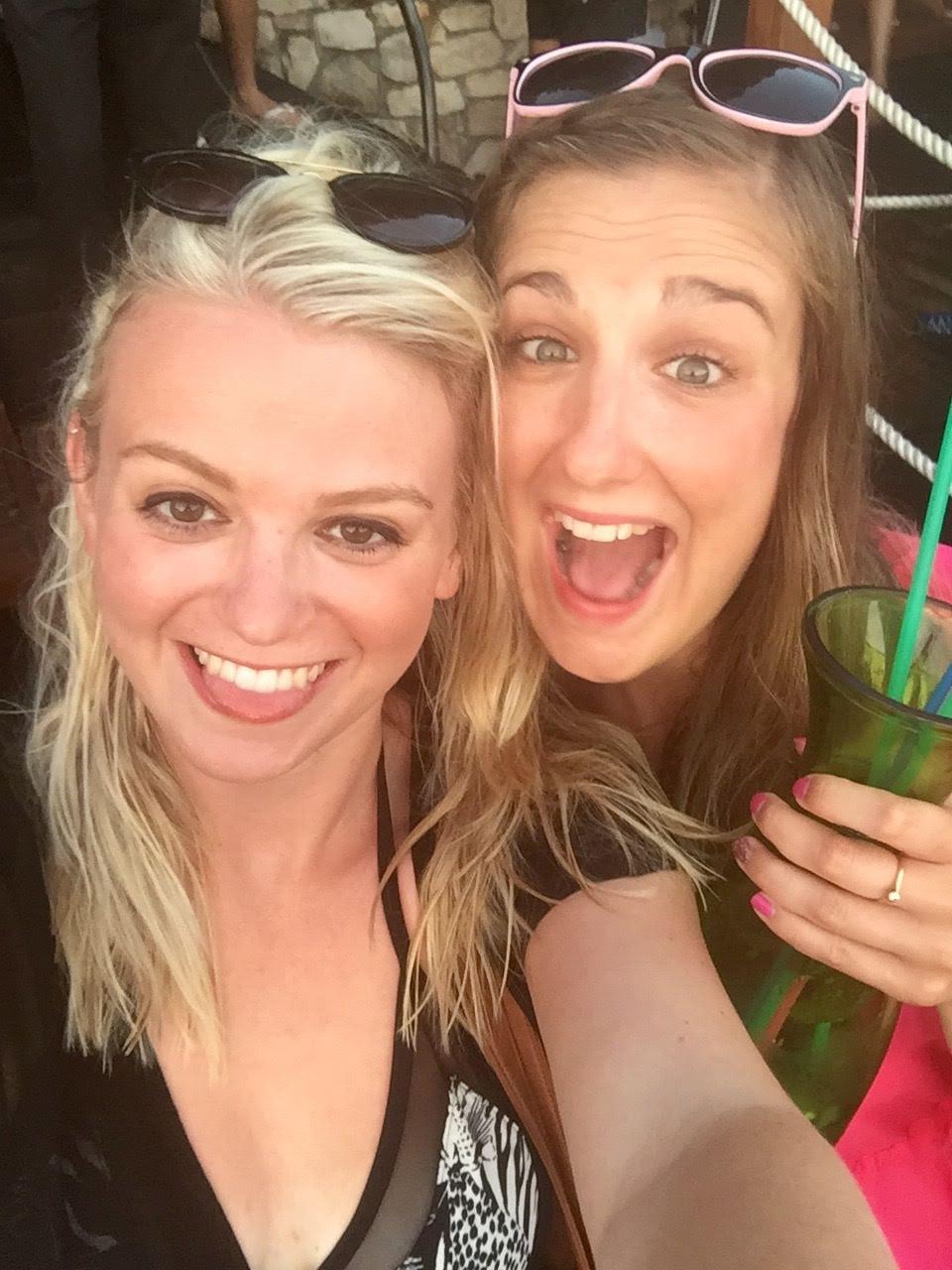Girls at Hula Hula Beach Club