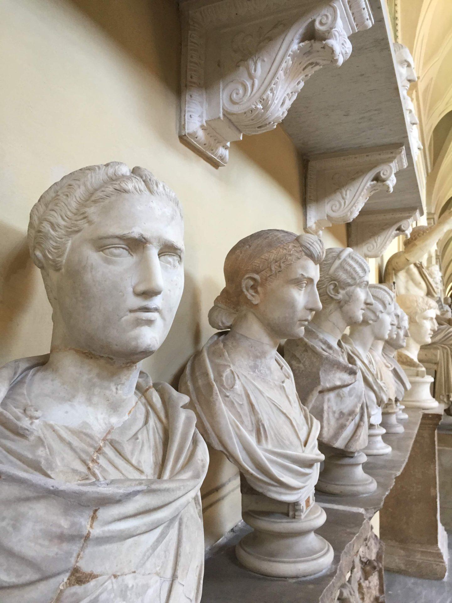 Sculptures in the Vatican Museum, Vatican City