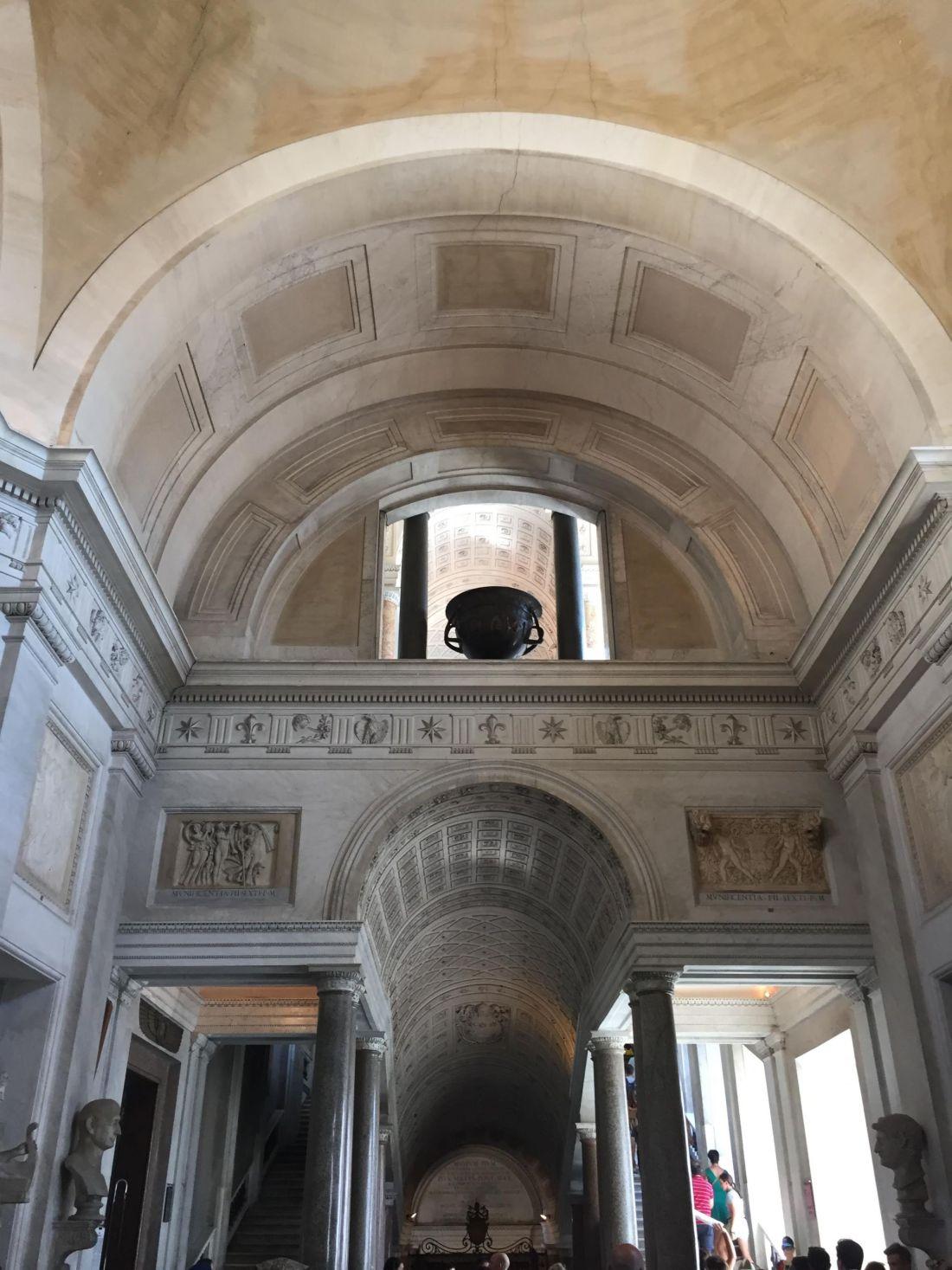 Ceilings of the Vatican Museum