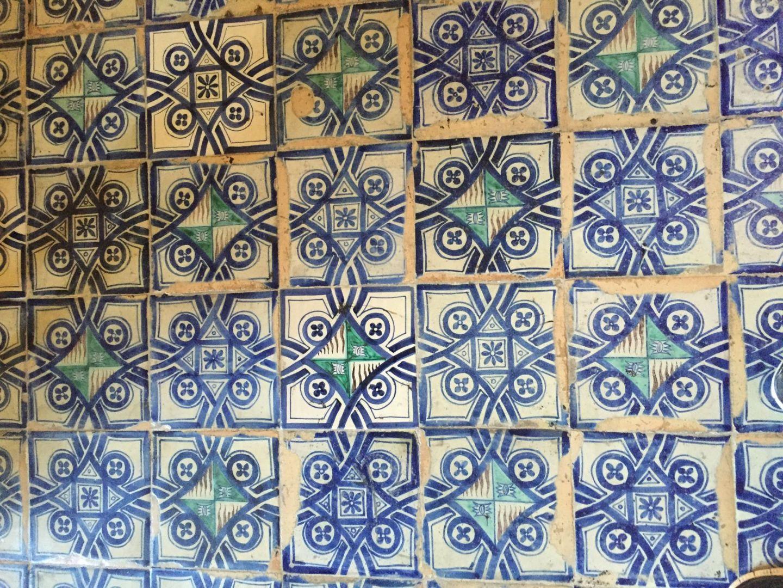 Tiles of the Vatican City Museum