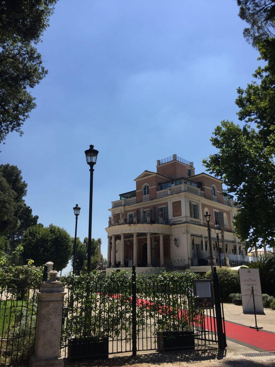 Casina Validier, Villa Borghese Gardens