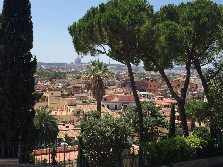 Views from Villa Borghese Gardens, Rome