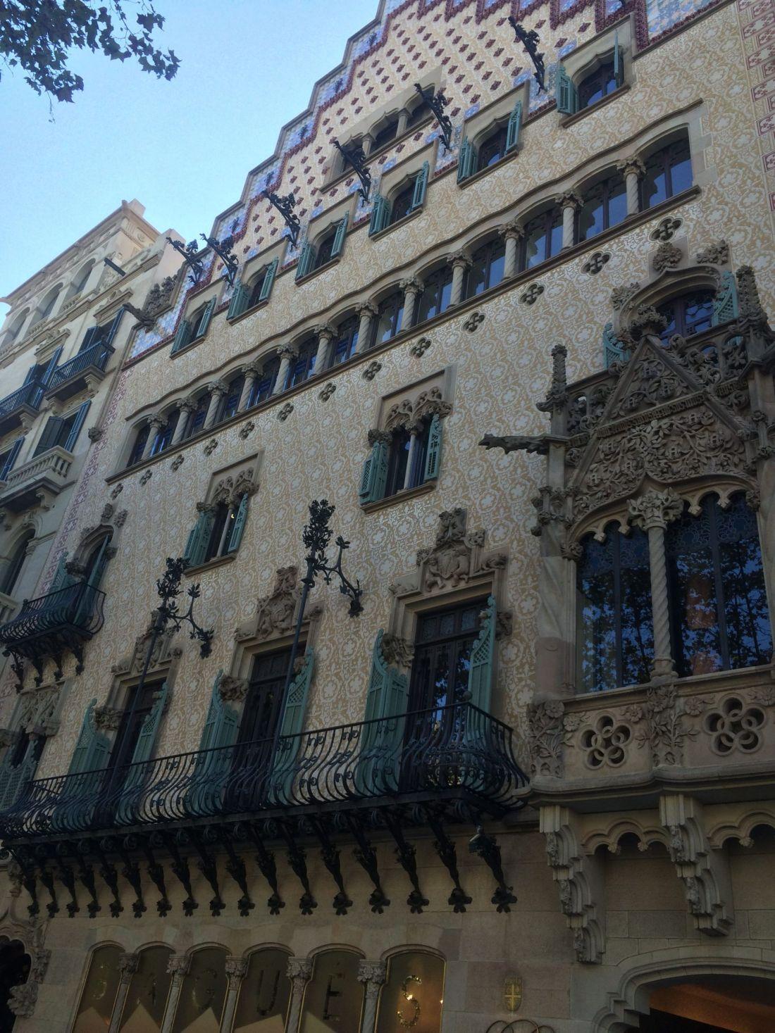 Casa Amatller, Passeig de Gràcia