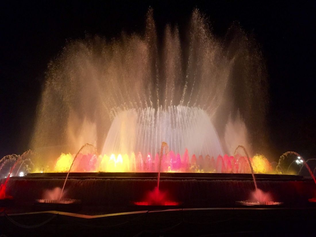Magic Fountain of Montjuïc, Barcelona