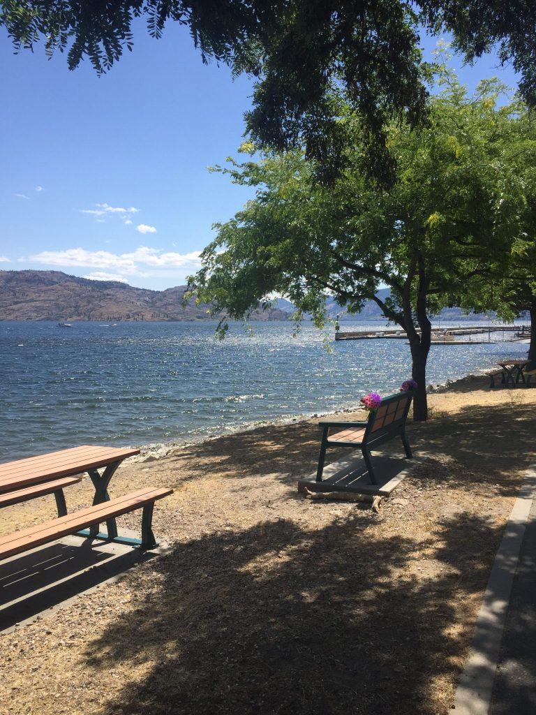 Views of Lake Okanagan