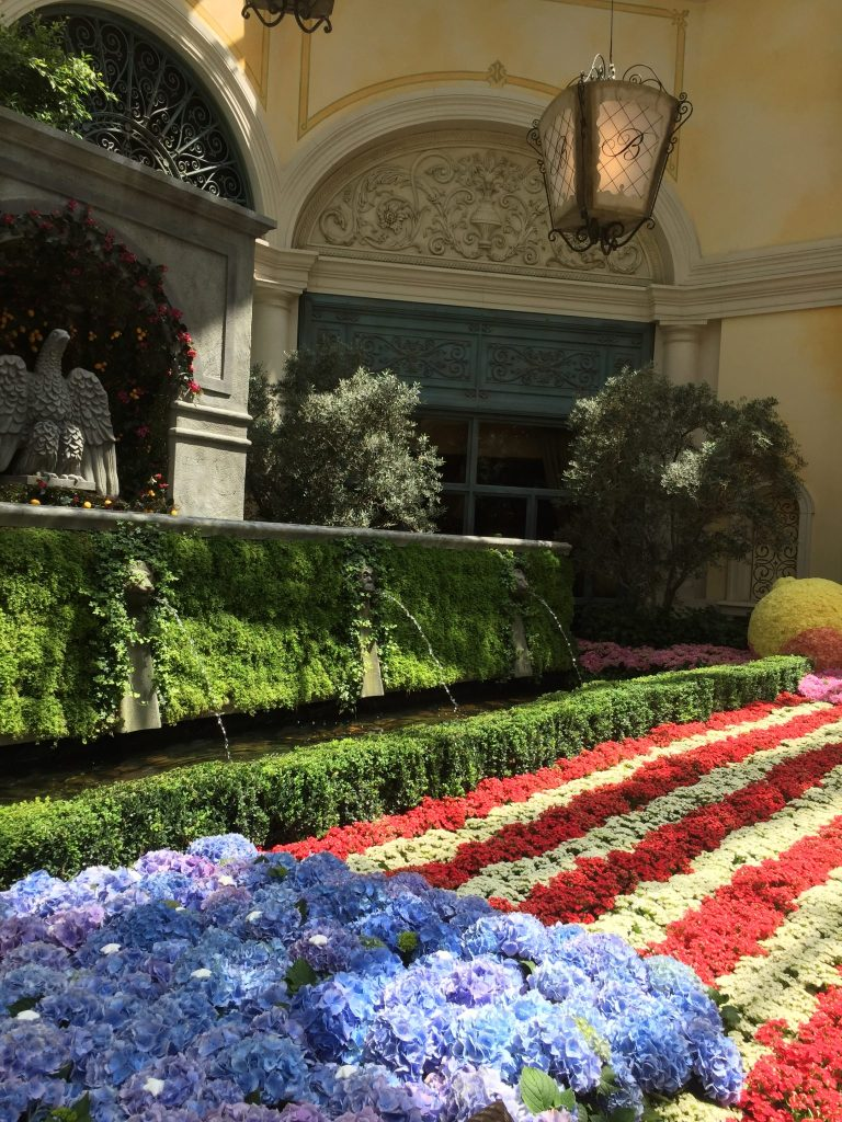 Inside the Bellagio Gardens, Las Vegas