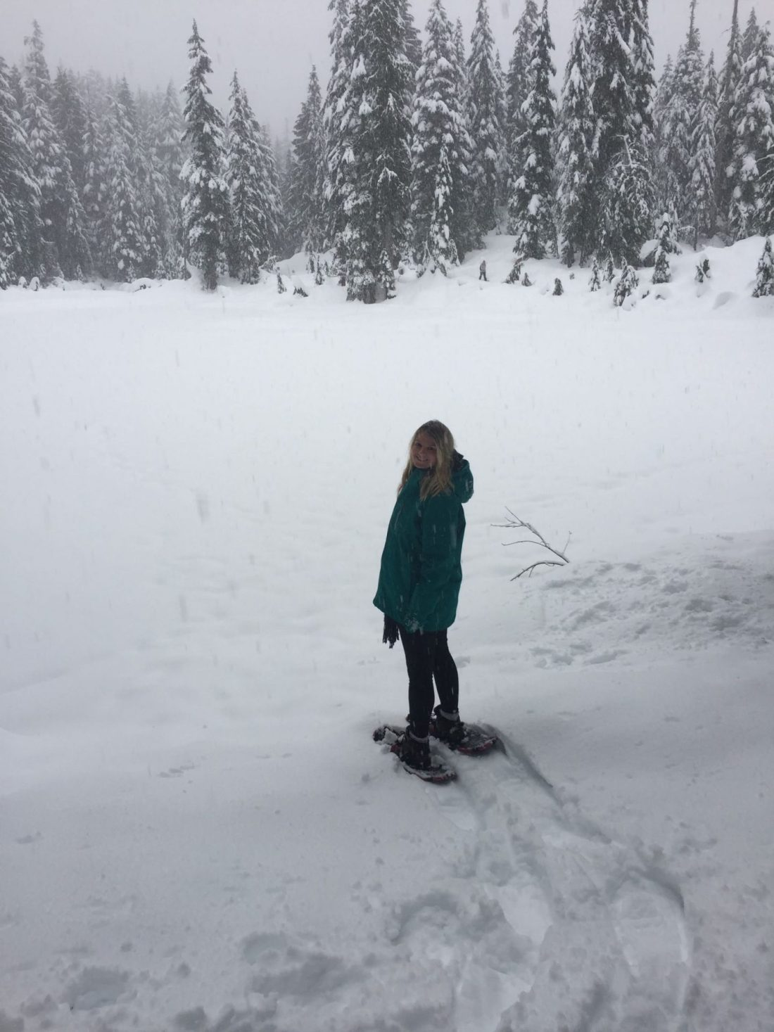 Laura on Mount Seymour, Vancouver