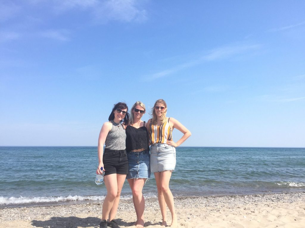 Girls on Woodbine Beach, Toronto