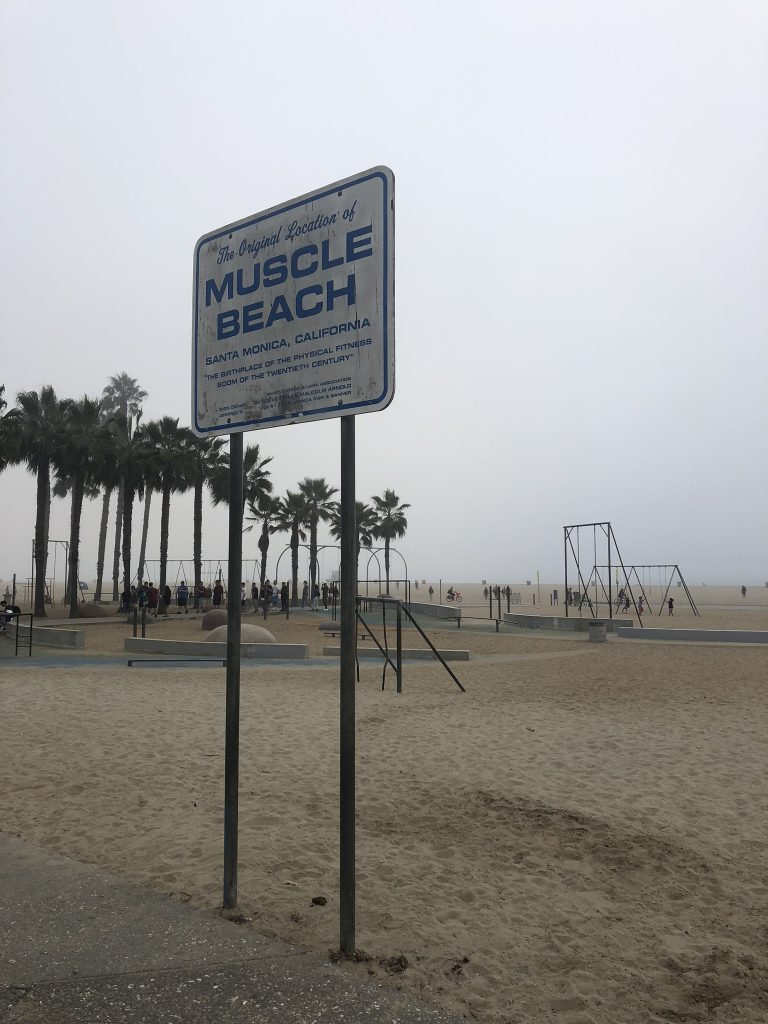 Muscle Beach, Venice, California