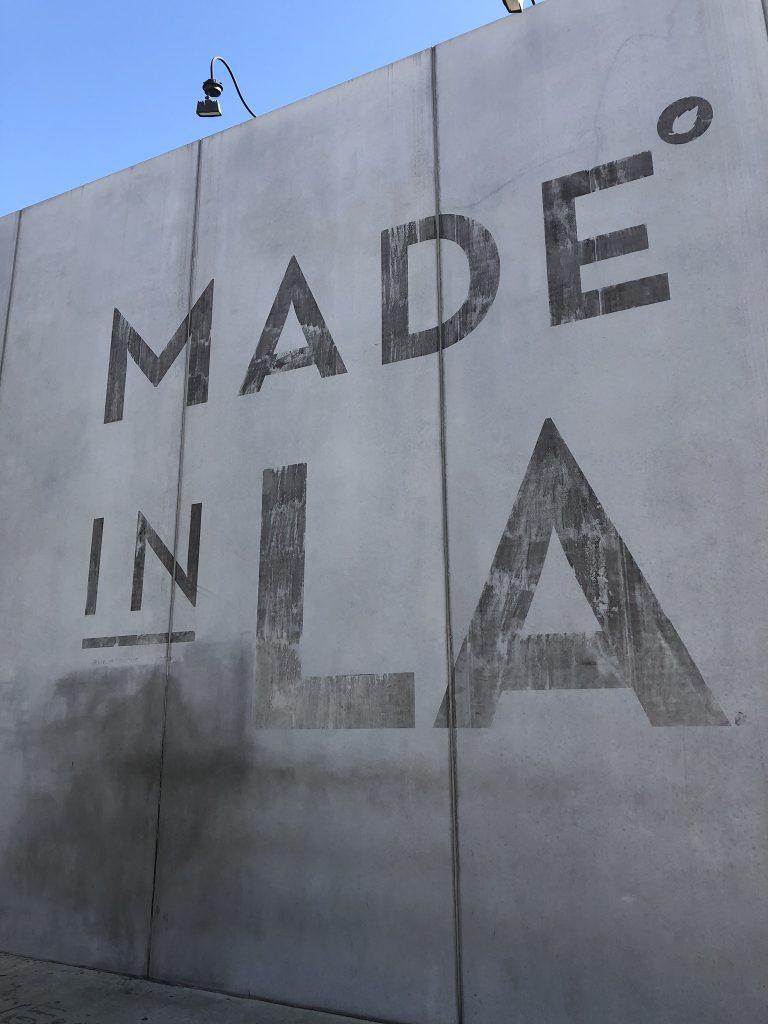 Made in LA mural, Los Angeles