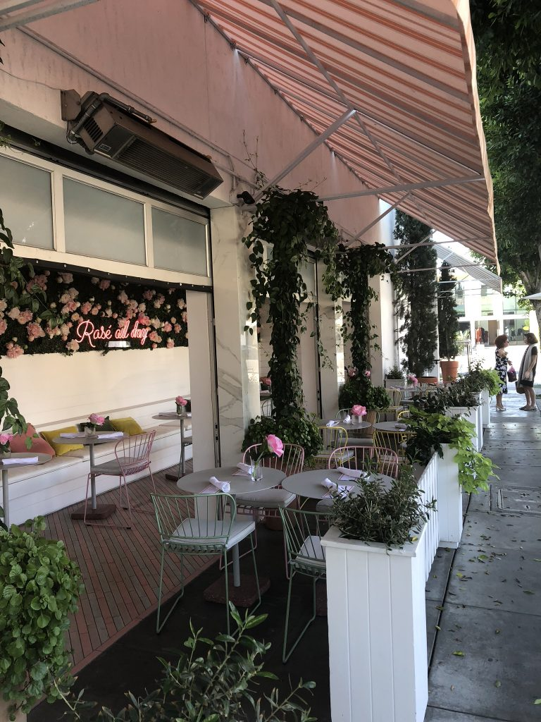 Cafe on Melrose Place, LA