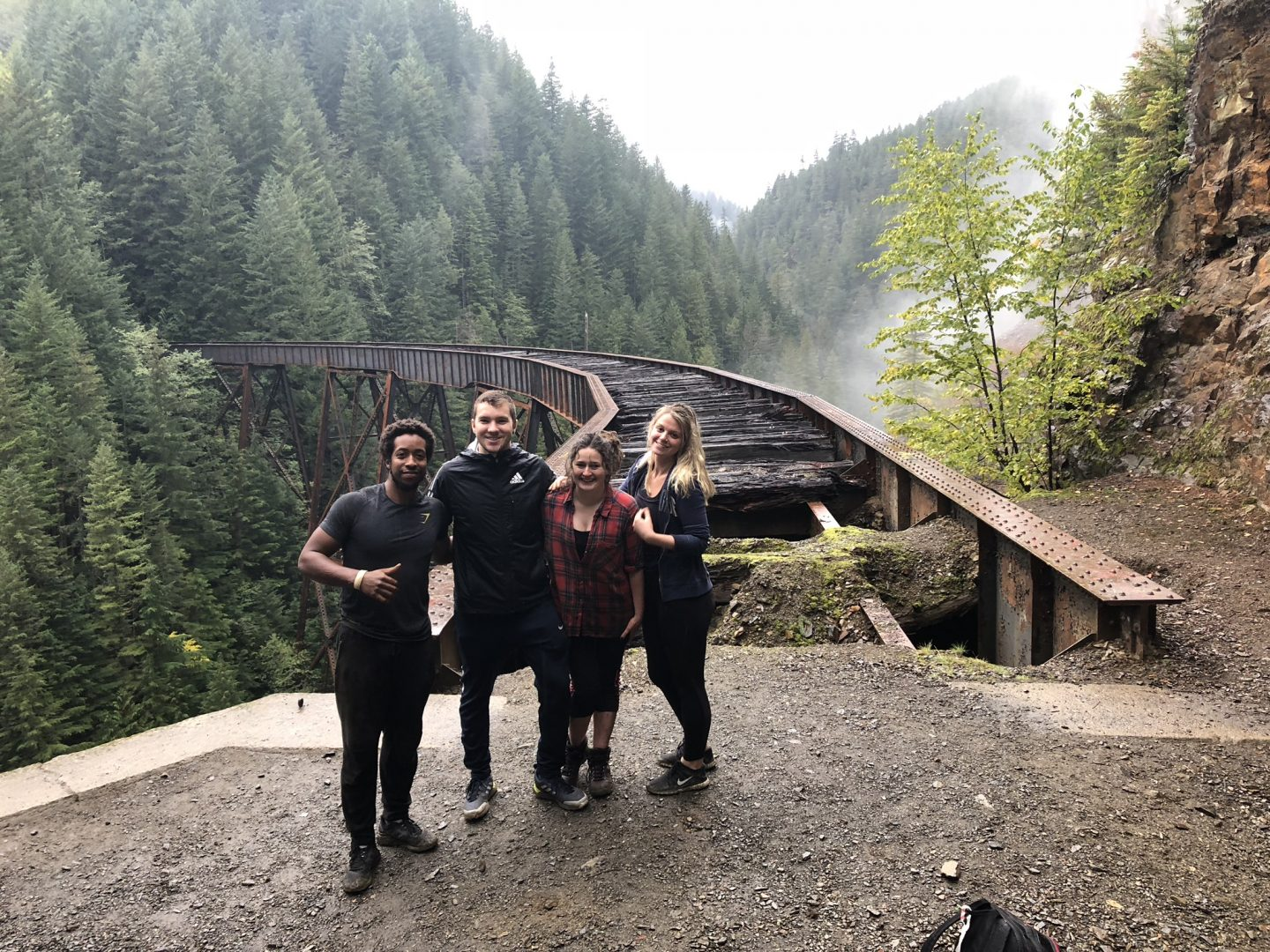 Hiking Ladner Creek Trestle