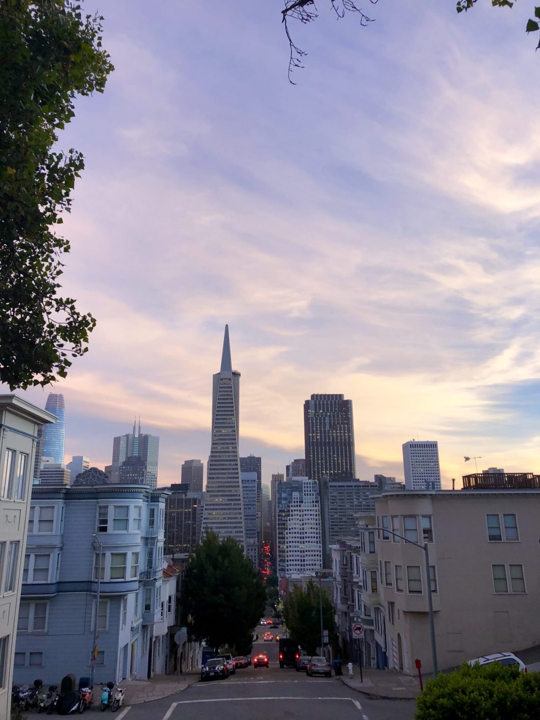 Sunset across San Francisco Bay, California
