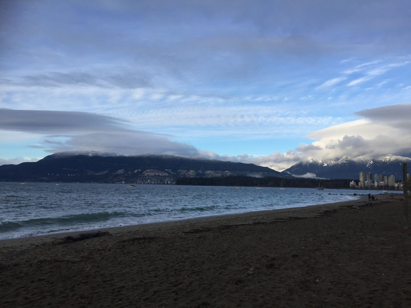Winter in Kitsilano, Vancouver